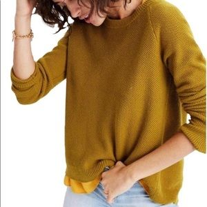 MADEWELL Province Cross-Back Crewneck Sweater